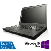 Laptop Refurbished LENOVO Thinkpad x240, Intel Core i5-4300U 1.90GHz, 8GB DDR3, 500GB SATA + Windows 10 Pro Laptopuri