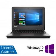 Laptop Refurbished LENOVO Yoga 11e, Intel Celeron N2930 Quad Core 1.80GHz, 4GB DDR3, 320GB SATA + Windows 10 Pro