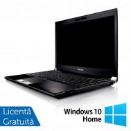 Laptop Refurbished Toshiba Portege R830-13C, Intel Core I5-2520, 2.50Ghz, 8GB, 240GB SSD, 13.3 inch LED, HDMI, Card Reader + Windows 10 Home