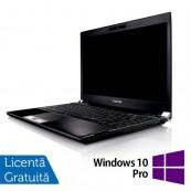 Laptop Refurbished Toshiba Portege R830-13C, Intel Core I5-2520, 2.50Ghz, 8GB, 320GB SATA, 13.3 inch LED, HDMI, Card Reader + Windows 10 Pro