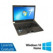 Laptop Refurbished Toshiba Tecra R840-10Z, Intel Core i5-2520M 2.50GHz, 4GB DDR3, 320GB SATA, DVD-RW, 14 Inch + Windows 10 Home Laptopuri