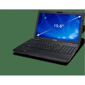 Laptop Toshiba C650-15Z, Intel Pentium Dual Core T4500 2.30GHz, 2GB DDR3, 320GB SATA, DVD-RW