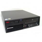 Lenovo M55 SFF, Intel Dual Core E6300 1.86Ghz, 2Gb DDR2, 80Gb SATA, DVD-RW, Second Hand Calculatoare