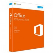Licenta retail Microsoft Office 2016 Home and Student 32-bit/x64 32- bit/x64 Romanian, Medialess Software & Diverse