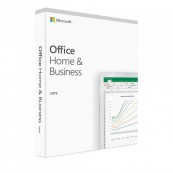 Licenta retail Microsoft Office 2019 Home and Business 32-bit/x64 English Software & Diverse