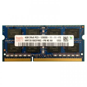 Memorie Laptop SO-DIMM DDR3-1600MHz 4GB PC3-12800S 204PIN, Second Hand