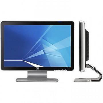 Monitoare HP W1907V LCD, 19 inch, 1400 x 900, VGA, 16.7 milioane culori, Grad A, Second Hand Monitoare