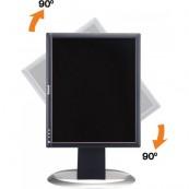 Monitor DELL UltraSharp 1704FP, 17 Inch LCD, 1280 x 1024, USB, DVI, VGA, Grad B