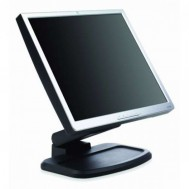 Monitor HP L1740 LCD, 17 Inch, 1280 x 1024, VGA, DVI, USB, Grad B, Fara picior