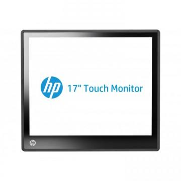 Monitor HP L6017TM Touchscreen LCD, 17 Inch, 1280 x 1024, VGA, DVI, Second Hand Monitoare 17 Inch