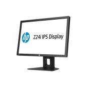 Monitor HP LA2405wg, IPS, 24 inch, 1920 x 1200, VGA, DVI, Display Port, 4 Porturi USB, Widescreen, Full HD, Second Hand Monitoare