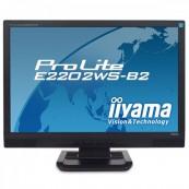 Monitor iiYama Prolite E2202WS, LCD 22 Inch, 1680 x 1050, VGA, DVI