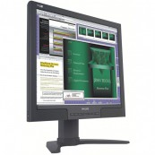 Monitor LCD Philips 190B7, 19 inch, 1280 x 1024, VGA, DVI, USB, Audio, Boxe integrate, Fara picior, Second Hand Monitoare
