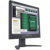 Monitor LCD Philips 190B8, 19 inch, 1280 x 1024, VGA, DVI, USB, 16.7 milioane de culori, Second Hand Monitoare