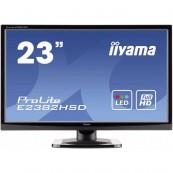 Monitor LED iiYama ProLite E2382HSD, 23 Inch Full HD, VGA, DVI