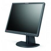 Monitor Lenovo ThinkVision L193P, LCD, 19 inch, 1280 x 1024, 20ms, VGA, DVI, Grad B, Second Hand Monitoare