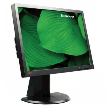 Monitor LENOVO ThinkVison L2440P, LCD, 24 inch, 1920 x 1200, VGA, DVI, USB, Refurbished