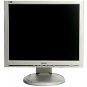 Monitor PHILIPS 190S6, LCD, 19 inch, 1280 x 1024, VGA, Fara picior, Second Hand Monitoare