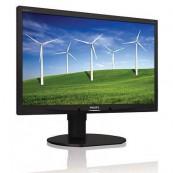Monitor Philips Brilliance 220B4L, 22 inch, 1680 x 1050, VGA, DVI, Audio, USB, Second Hand Monitoare