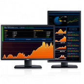 Monitor Refurbished DELL U2412M, LED, Panel IPS, 24 inch, 1920 x 1200 WUXGA, VGA, DVI, 5 Porturi USB, Widescreen Monitoare