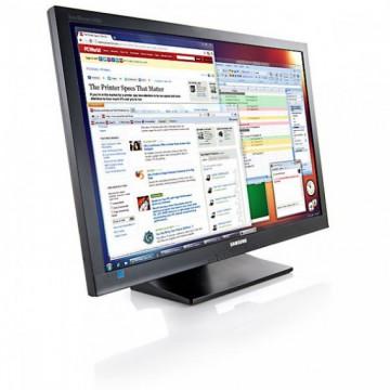 Monitor Samsung SyncMaster S24A450BW, 24 inch, 1920 x 1200, 5 ms, VGA, DVI, Contrast Dinamic 5000000:1, Grad A-, Second Hand Monitoare