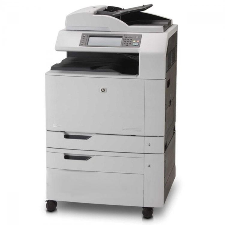 multifunctional laser color a3 hp cm6040 mfp copiator scanner