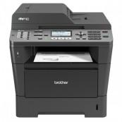 Multifunctionala BROTHER MFC 8520DN, A4, Duplex, Scanner, Copiator, Printer si Fax, Retea si USB, 36 ppm + Cartus si Unitate Drum NOI, Second Hand Imprimante