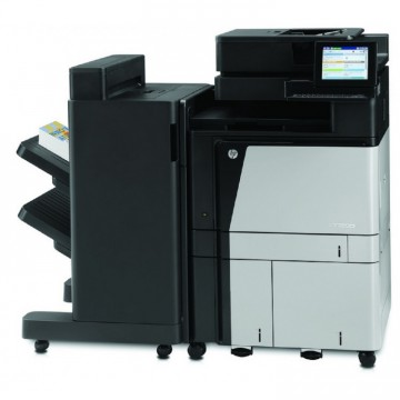 Multifunctionala Laser Color HP LaserJet Managed Flow MFP M880, Duplex, A3, 1200x1200 dpi, 46 ppm, Fax, Copiator, Scanner, USB, Retea, Finisher, Second Hand