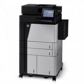 Multifunctionala Second Hand HP LaserJet Enterprise Flow M830z, 56 PPM,1200 x 1200 DPI, USB, Wireless, A3, A4, Duplex Imprimante