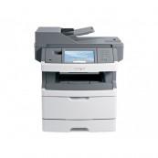 Multifunctionala Second Hand laser monocrom Lexmark x464de, Imprimanta, Copiator, Scanner, Fax, USB 2.0, Retea