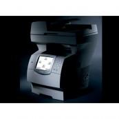 Multifunctionala Second Hand Lexmark X646, Imprimanta Laser, Copiator, Fax, Scanner, USB, Monocrom