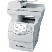 Multifunctionale Second Hand Laser Lexmark X644e, Scanner, Copiator, Fax, Imprimanta, Usb, Retea Imprimante