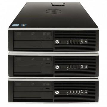 Pachet 3 x Calculator HP 6000 Pro SFF, Intel Core 2 Duo E8400 3.0GHz, 4GB DDR3, 250GB SATA, DVD-RW, Second Hand