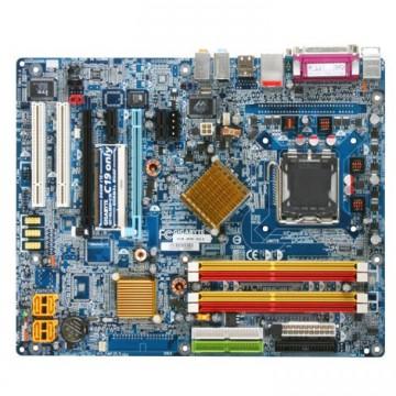 Placa de baza Gigabyte GA-8N-SLI, Socket 775 + Procesor Pentium 4 3.06GHz, Cu Shield, Second Hand