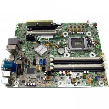 Placa de baza HP Elite 8200 SFF, Model 61183-001, DDR3, Socket 1155, Fara Shield, Second Hand