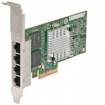 Placa de retea HP Intel Quad Port PCI-e Full Height Gigabit NC365T PCI-E x4, Second Hand Servere & Retelistica