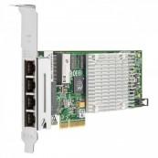 Placa de retea HP Intel Quad Port PCI-e Full Height Gigabit NC375T PCI-E x4, Second Hand Servere & Retelistica