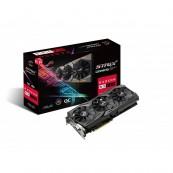 Placa Video Noua, ASUS ROG Strix Radeon RX 580 T8G Gaming Top OC Edition GDDR5 DP HDMI DVI VR Ready AMD Calculatoare