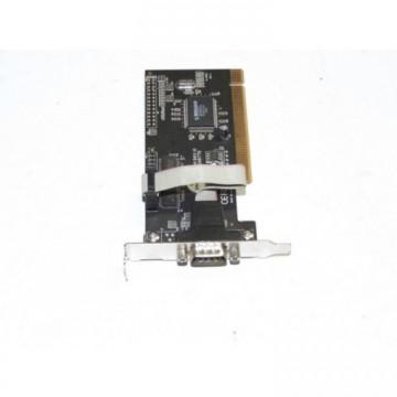 Port serial 9 pini, low profile, conexiune PCI, Second Hand