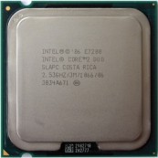 Procesor Intel Core 2 Duo E7200, 3M Cache, 2.53 GHz, 1066 MHz FSB, Second Hand Calculatoare