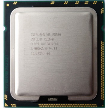 Procesor Server Quad Core Intel Xeon E5504 2.00GHz, 4MB Cache, Second Hand Servere & Retelistica