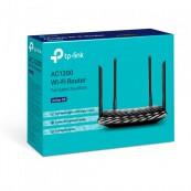 Router Wireless TP-Link Archer C6, 1200Mbps, 4 porturi Gigabit, 4 antene externe + 1 interna, Dual Band AC1200