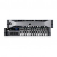 Server Dell PowerEdge R720, 2x Intel Xeon Hexa Core E5-2620, 2.0GHz - 2.50GHz, 192GB DDR3 ECC, 8 x HDD 600GB SAS/10K, Raid Perc H710 mini, Idrac 7 Enterprise, 2 surse redundante, Front bezel