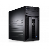 Server Dell PowerEdge T310 Tower, Intel Core i3-530 2.93GHz, 8GB DDR3-ECC, Hard Disk 2 x 2TB SATA, Raid Perc H200, Idrac 6 Enterprise, 2 PSU Hot Swap