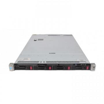 Server HP ProLiant DL360 G9, 1U, 2x Intel (12 Core) Xeon E5-2673 V3 2.4 GHz, 16GB DDR4/2133P ECC Reg, 2 x 2TB SAS HDD, Raid Controller HP P440ar/2GB, 4-port Ethernet 331i + 2-port InfiniBand FDR/Ethernet 40Gb 544+, iLO 4 Advanced, 2x Surse HS 1400W, Refurbished