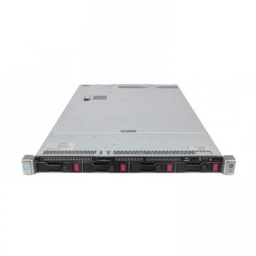 Server HP ProLiant DL360 G9, 1U, 2x Intel (12 Core) Xeon E5-2673 V3 2.4 GHz, 64GB DDR4/2133P ECC Reg, 4 x 4TB HDD, Raid Controller HP P440ar/2GB, 4-port Ethernet 331i + 2-port InfiniBand FDR/Ethernet 40Gb 544+, iLO 4 Advanced, 2x Surse HS 1400W, Refurbished