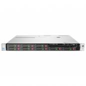 Server HP ProLiant DL360e G8, 1U, 2x Intel Octa Core Xeon E5-2450L 1.8 GHz-2.3GHz, 48GB DDR3 ECC Reg, 2x SSD 240GB SATA + 2x 900GB SAS/10k, Raid Controller HP SmartArray P822/2GB, iLO 4 Advanced, 2x Surse 750W HOT SWAP