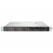 Server HP ProLiant DL360e G8, 1U, 2x Intel Octa Core Xeon E5-2450L 1.8 GHz-2.3GHz, 96GB DDR3 ECC Reg, No HDD ( 6 caddy-uri incluse) , Raid Controller HP SmartArray P420/1GB, iLO 4 Advanced, 2x Surse HS, Second Hand