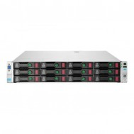 Server Refurbished HP ProLiant DL380e G8, 2U, 2x Intel Octa Core Xeon E5-2450L 1.8 GHz-2.3GHz, 128GB DDR3 ECC Reg, 12 x 450GB SAS/10K/2,5 on 3,5 adapter, Raid Controller HP SmartArray P420/1GB, iLO 4 Advanced, 2x Surse Hot Swap 750W