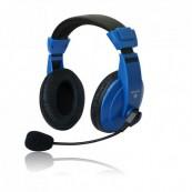 Set MSONIC casti microfon stereo, Albastru Componente & Accesorii